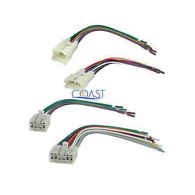 $9.75 • Buy Car Stereo Radio Wire Wiring Harness Set For 1987-2007 Toyota Scion