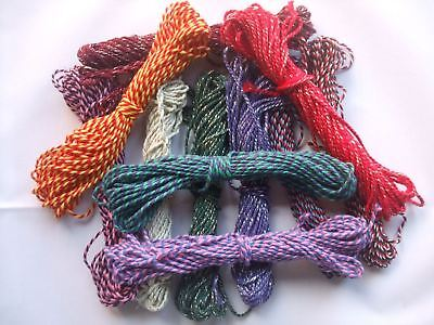 £1.75 • Buy 10m Bakers Twine, Large Range Of Metallic And Multistriped Colours