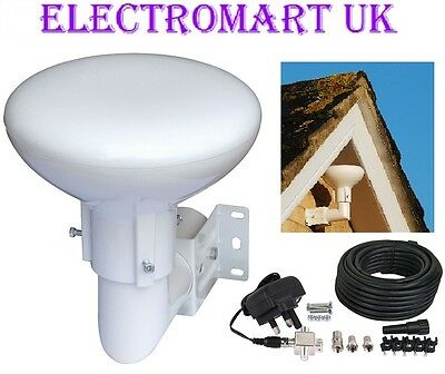 Digidome Outdoor Loft Omni Directional Tv Digital Freeview Booster Aerial 20db  • 49.99£