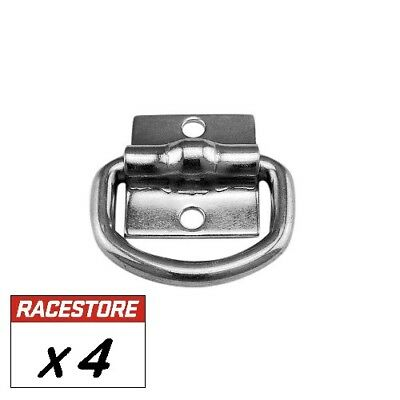 AU16 • Buy Lashing D Ring (4 Pack) Tie Down Anchor Point, Trailer Truck Toolbox Ute Tray