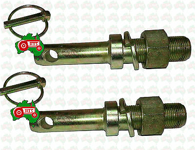 AU29.95 • Buy HTS0031 Pair Tractor Implement Slasher Grader Lower Link Pin Cat 1 1  51 Mm