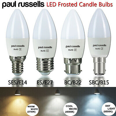 1 2 5 10 20 Halogen Candle Bc Sbc Es Ses Low Energy Saving Light Bulbs Dimmable • 14.99£
