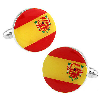 Spain Spaniard Barcelona Madrid Football Mens Womens Gift Cufflinks Cuff E1 UK! • 4.25£
