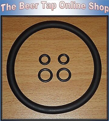High Quality Cornelius / Corny Keg Replacement O-ring Seal Kit. Home Brewing  • 5.50£