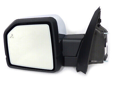 $760.05 • Buy 2015 2016 Ford F150 Left Driver Side View Mirror With Power Fold Blind Spot OEM