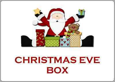 £2.50 • Buy Christmas Eve Box Or Bag Stickers Children's Night Before Santa Labels