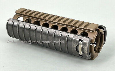 $28 • Buy M4A1 RIS With Rail Cover In Tan For Mini Model 1:2.05 Scale (For Display Only)