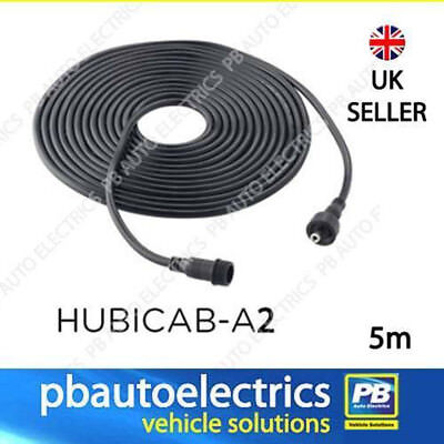 £11.04 • Buy Solar Hub Or HUBi 5 Meter Extension Cable For Panels Or Lights - DC5521-5M