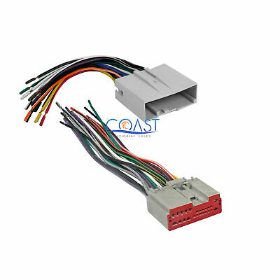 $9.99 • Buy Car Radio Aftermarket Wire Wiring Harness Set For  2003-up Ford Lincoln Mercury