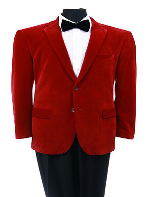 $ CDN126.57 • Buy Men's 2 Button Solid Velvet Velour Sport Coat Blazer Suit Formal Tuxedo Jacket