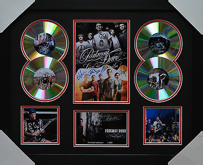 AU93.50 • Buy Parkway Drive Memorabilia Framed Signed Limited Edition 4cd