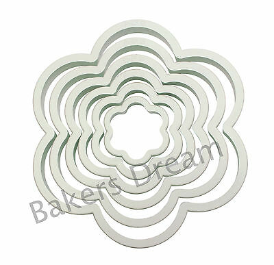 PME Set Of 6 Cookie & Sugarcraft Cutters For Biscuits Sugarcraft Or Plaques • 3.38£