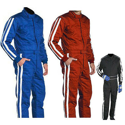 £33.99 • Buy GO Kart Cordura RACE Suit-Blue-Black-Red With White Strip-NEW