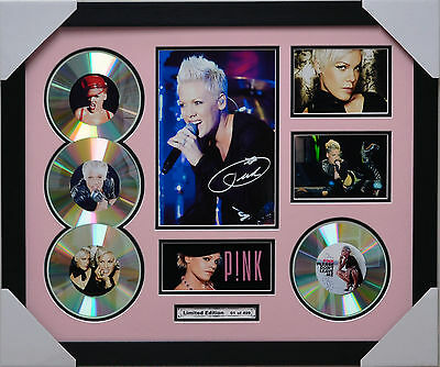AU93.50 • Buy Pink 4cd Memorabilia Signed Limited Edition P!nk