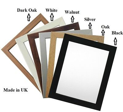 Picture Frame Photo Frame Poster Size Frame Wooden Effect A1 A2 A3 A4 A5 A6  • 5.25£