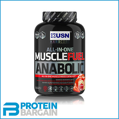 USN Muscle Fuel Anabolic All In One Lean Muscle Catalyst 2kg • 28.85£