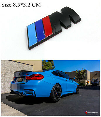 AU15.50 • Buy M-Sport Car Badge 3D Self-adhesive Boot/Trunk Premium Logo Emblem For BMW BK
