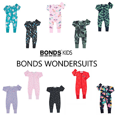 AU21.99 • Buy Bonds Baby Wondersuit Zippy Printed Floral Designs Bzbva / Byj7a Size 0000 - 3