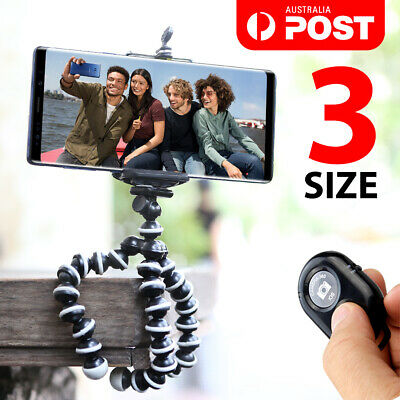 AU17.95 • Buy Universal Octopus Stand Tripod Mount Holder For IPhone Samsung Cell Phone Camer