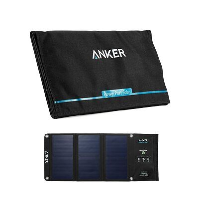 AU105.93 • Buy Anker 21W Portable Solar Charger Foldable Panel For Smartphone Tablet New Japan