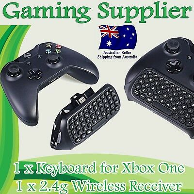 AU28.99 • Buy Wireless Chatpad Message Keyboard + 2.4G Receiver For Xbox One Controllerhho