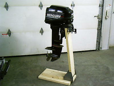 AU60.79 • Buy Boss Boat Motor Stand Cart Dolly Bracket Outboard Mount Gas