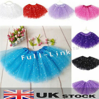 Hot Girls Kids Adult Tutu Star Skirt Princess Party T Ballet Dance Pettiskirt  • 4.99£