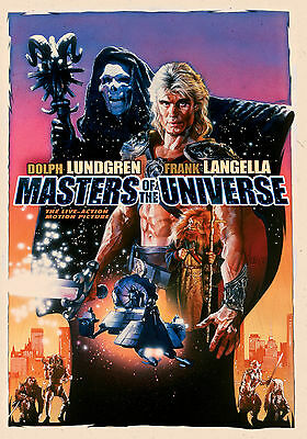 $8.98 • Buy MASTERS OF THE UNIVERSE Movie Poster 1987 He-Man