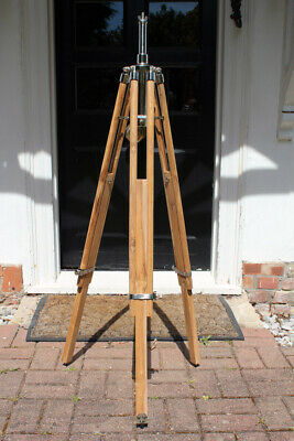 Strand Stand Tripod New Solid Teak For 23, 23n, 123 Stage Theatre Light Lamp  • 145£