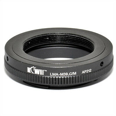 $42.81 • Buy Adapter Mount Ring For Leica M39 Lens To Camera Canon EOS EF-M Mirrorless
