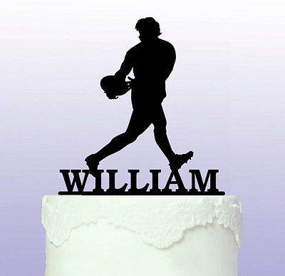 £9.50 • Buy Personalised Rugby Acrylic Cake Topper