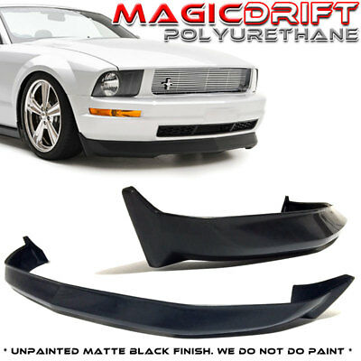 $136.88 • Buy For 05 06 07 08 09 FORD MUSTANG V6 3C URETHANE FRONT BUMPER LIP SPOILER SPLITTER