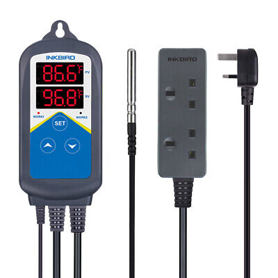 Inkbird ITC306T UK Digital Temperature Controller Heating Time Controller 2200w • 26.50£