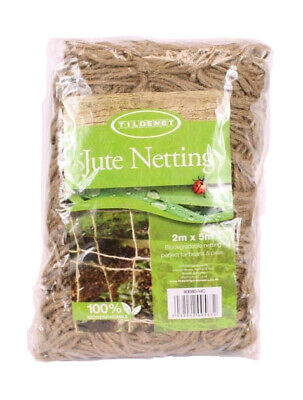 £14.99 • Buy Pea And Bean Natural Jute Netting Biodegradable Strong Climbing Plants