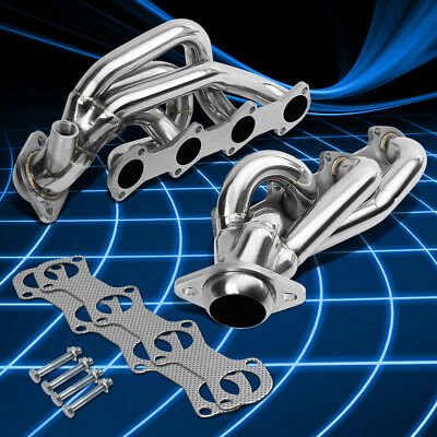 $112.98 • Buy For 97-03 F150/F250/Expedition 5.4 V8 Stainless Steel Header Manifold Exhaust