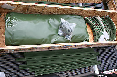 $2145 • Buy Camo 2 1/2 Ton Military Truck Cargo Cover Kit M35 M35a2 M35a2c M35a3 12' Nos!!!