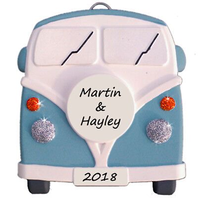 £12.75 • Buy Camper Van - Personalised In BLUE - Plaque  - Truly For You