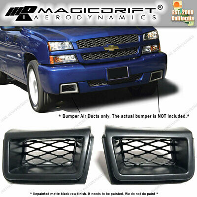 $69.99 • Buy Front Bumper Caliper Air Duct Left Right LH RH PAIR For Silverado SS Urethane