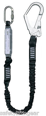 £40.67 • Buy Height Safety Elasticated Shock Absorbing Scaffold Hook Fall Arrest Lanyard