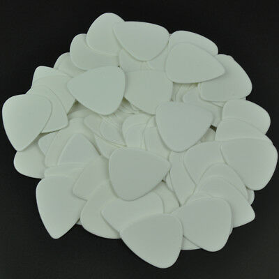 $ CDN14.63 • Buy 100 Pcs New Blank Heavy 0.96mm Guitar Picks Celluloid Solid White