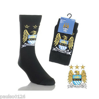 £3.77 • Buy Manchester City Football Club Official Mens Socks Size 6 - 11 ( Euro 39 - 46 )
