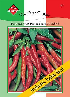 £2.99 • Buy Thompson & Morgan The Taste Of Italy - Pepper - Peperone Fuego F1 - 20 Seed