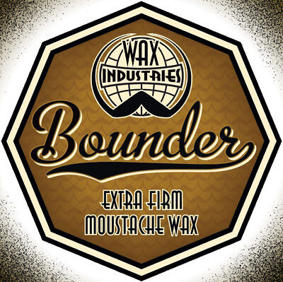 £7.50 • Buy Bounder Extra-firm Moustache / Mustache Wax 10g Tin