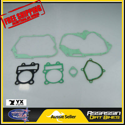 AU28.66 • Buy GENUINE YX160 YX 160 160cc ENGINE MOTOR COMPLETE GASKET SET KIT