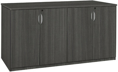 $850 • Buy CONTEMPORARY OFFICE CREDENZA CABINET STORAGE Furniture Mahogany Cherry 72  NEW