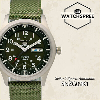 $ CDN163.71 • Buy Seiko 5 Sports Automatic Watch SNZG09K1