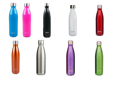 AU25.99 • Buy Oasis 750ml Double Wall Insulated Drink Water Bottle Hot Cold Thermos