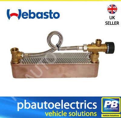 £260.77 • Buy Webasto Thermo Top C Thermo 90ST Plate Heat Exchanger With Mixer Tap - 4111209A