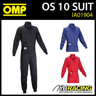 £89.99 • Buy Ia01904 Omp Sport Os One-layer Proban Fire Proof Overalls Mechanic Suit Pit Crew