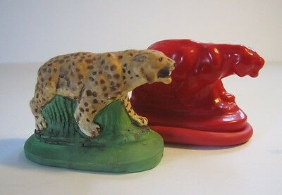 Latex Rubber Wild Animals Moulds For Wax Or Plaster • 3.25£